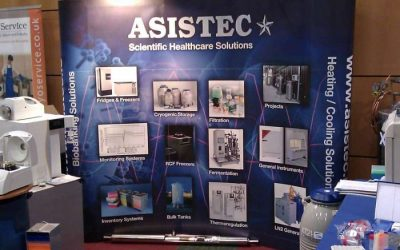 Asistec Exhibits at the Fertility 2011 Conference in the new Convention Centre, Dublin